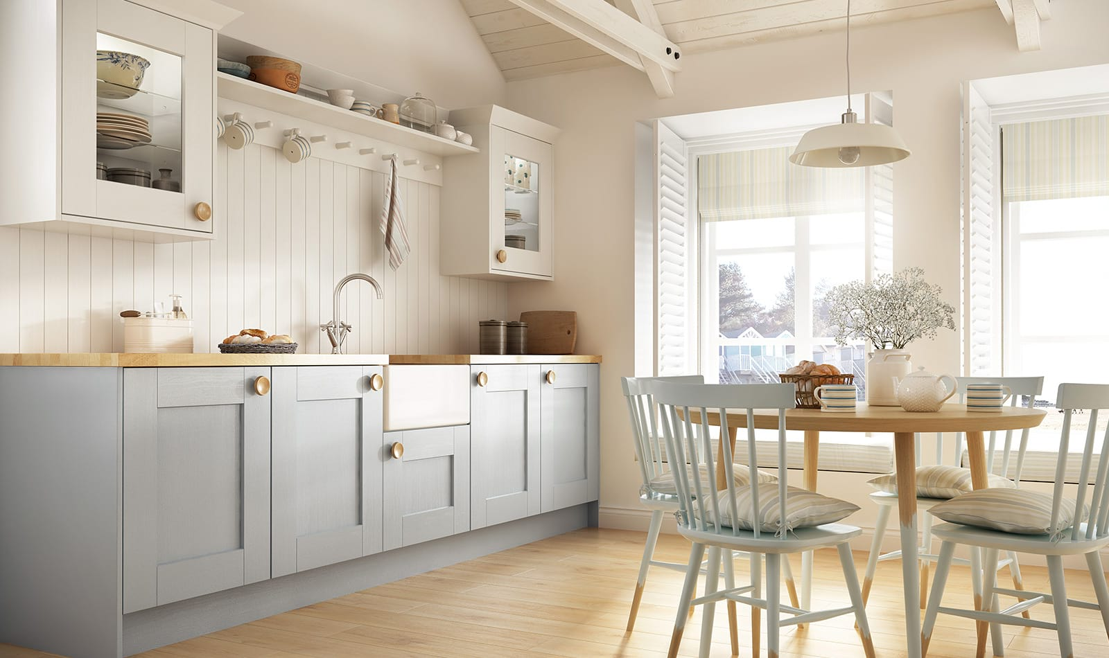 Laura Ashley   Whitby Linton shaker Kitchens   Kitchen Solutions ...